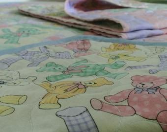 Kids blanket | Baby mat | Baby blanket | Crib blanket | Neutral Blanket | Playtime blanket | Baby shower gift