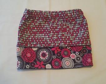 Multi-layered toddler skirt 1T -4T