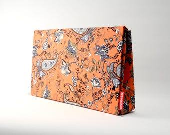Paisley Print Clutch Handbag