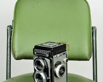 Reduced! Rolleiflex Model T type 1 1950-60's twin lens reflex medium format 6x6 camera