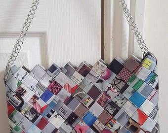 Candy wrapper handbag
