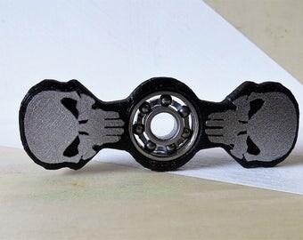 Fidget Spinner Skull | 3D Printed | Toy | Hand Spinner | EDC | Spinner Fidget Toy