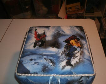 Mountain climbing Fabric Box