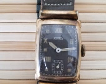 Vintage Swiss made Fortis Watch 1940's