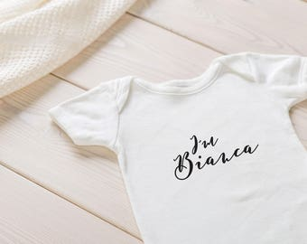 Personalised baby outfits