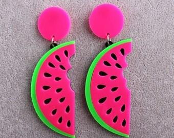 Fun Watermelon Earrings!
