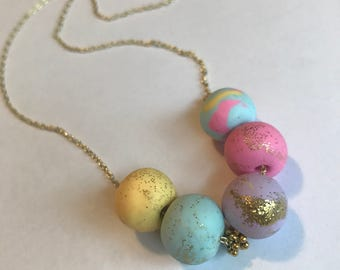 Handmade Pastel Necklace