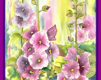 Watercolor flowers ~Watercolors Painting Original ~ Watercolor Painting ~Watercolor~ Art Flowers painting