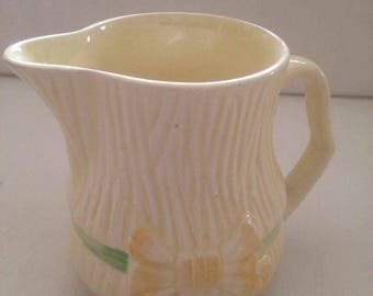 Yellow Lemon Coloured Milk Jug