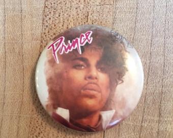 PRINCE Vintage Pin, Prince Button, Musician