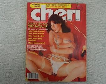 Cheri Magazine January 1983 Diane Bentley; Deep Throat
