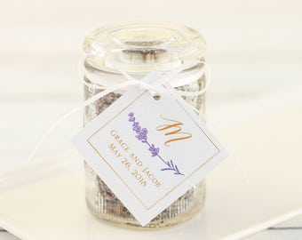 Personalized Wedding Favor Tags
