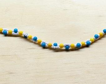 Small Twisted Beaded Bracelet