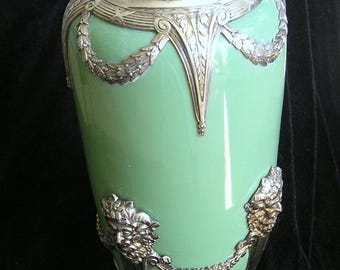 German WMF LARGE VASE Ceylon Vase 20 inch high