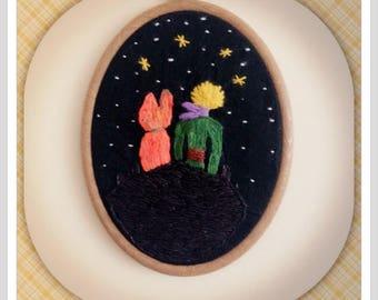 Le petit prince hoop/hoop art/wall decoration