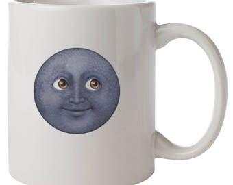 Moon Face Enoji Mug