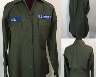 1970's | U.S. Air Force | Cotton Shirt