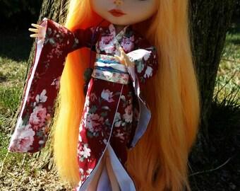 Custom blythe, blythe customized Lili