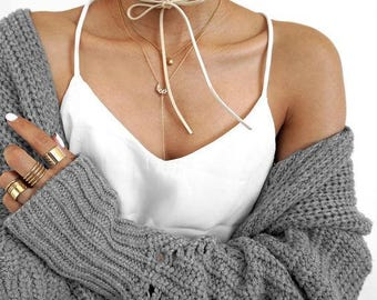 2 parts. Choker * Musthave * Bloggerstyle
