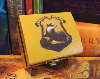 Harry Potter Inspired Hufflepuff Ring Box