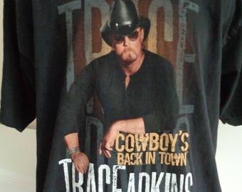 TRACE ADKINS  T-Shirt, Vintage Trace Adkins