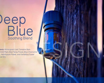 DoTERRA | Essential Oil | Deep Blue | Wellness Advocates | Social Media | Stock Image