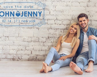 10 Save the Date Badge Overlays