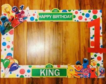 Sesame Street photo frame