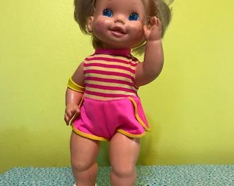 Vintage 1982 Baby Skates Doll