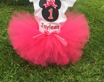 Minnie Mouse Pink Tutu Sets