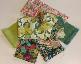 Art Gallery fabric scraps