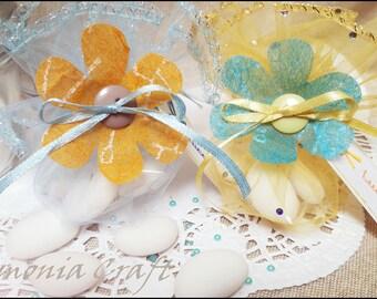 DIY kits for baby's birth and Baptism favor box