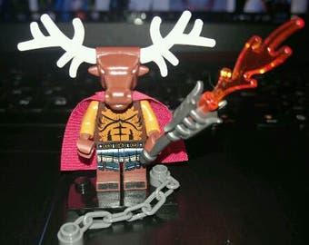 krampus lego mini figure