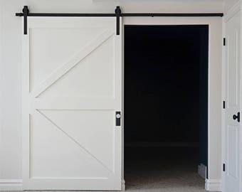 Classical Design Barn Door Hardware/sliding Door Kit 5ft,6ft,6.6ft 7.5