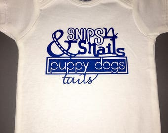 Snips n Snails & Puppy Dog Tails