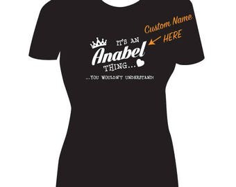 Custom Name T-Shirt / Women's Name Shirt