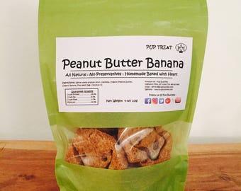 Peanut Butter Banana - Dog Treat