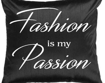 Throw Pillow Cover - Fashionista Pillow - Fashionista Throw Pillow - Fashion Pillow - Cover Only