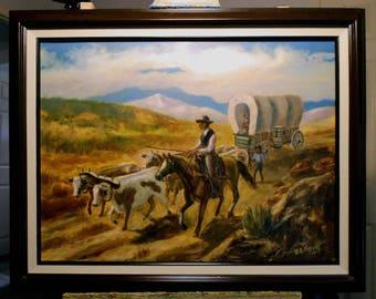 The Oregon Trail, 1850