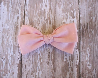 Pink Hand-Tied Bow