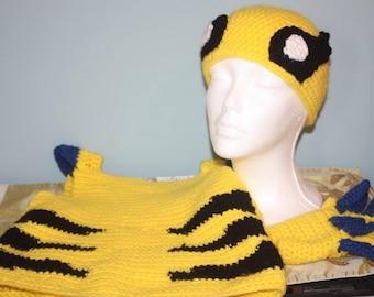 Crocheted Superhero Set - Custom Made to Order