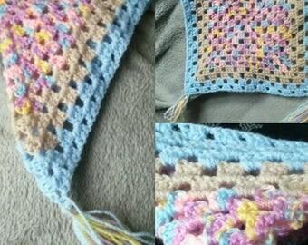 Handmade Soft Crochet Childs Comforter