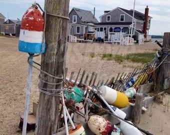 Sandy Neck Fishing Village Cottage Decor Instant Download Beach Photography