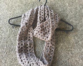 Crochet Island Lace Scarf