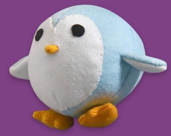 DIY plush felt Penguin sewing kit