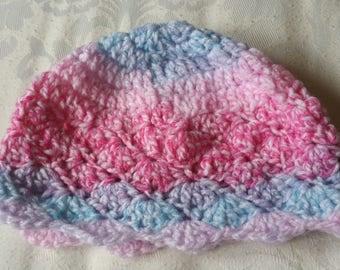 Girls, Baby Crochet Hat