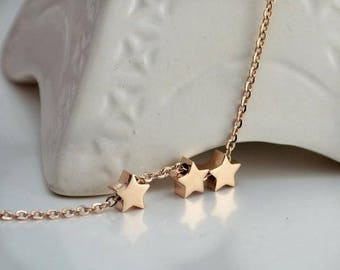 Handmade Silver Plated Star Necklace