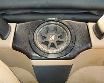 "BMW Z3 Roadster Custom 8"" Subwoofer Enclosure"