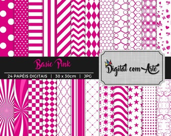 50% OFF - Pink Digital Paper