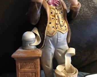 Vintage Seymore Mann Telegraph Reader Figurine
